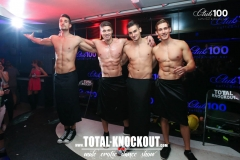 club 100 total Knockout show